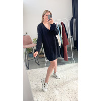 JANE KNIT DRESS - BLACK