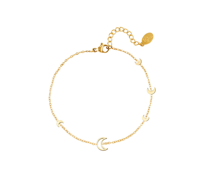 MOON BRACELET - GOLD