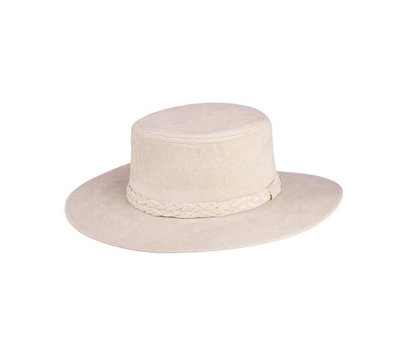 VIV SUEDE HAT - BEIGE