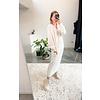 LISETTE KNIT DRESS - WHITE