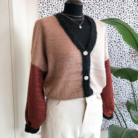 KATRIN TOUCH OF GLITTER BROWN KNIT