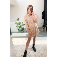 MARLEY MUSTHAVE TAUPE BLOUSE