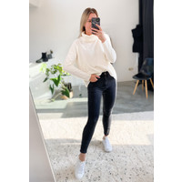 BABS WHITE ROLLNECK - ONE SIZE