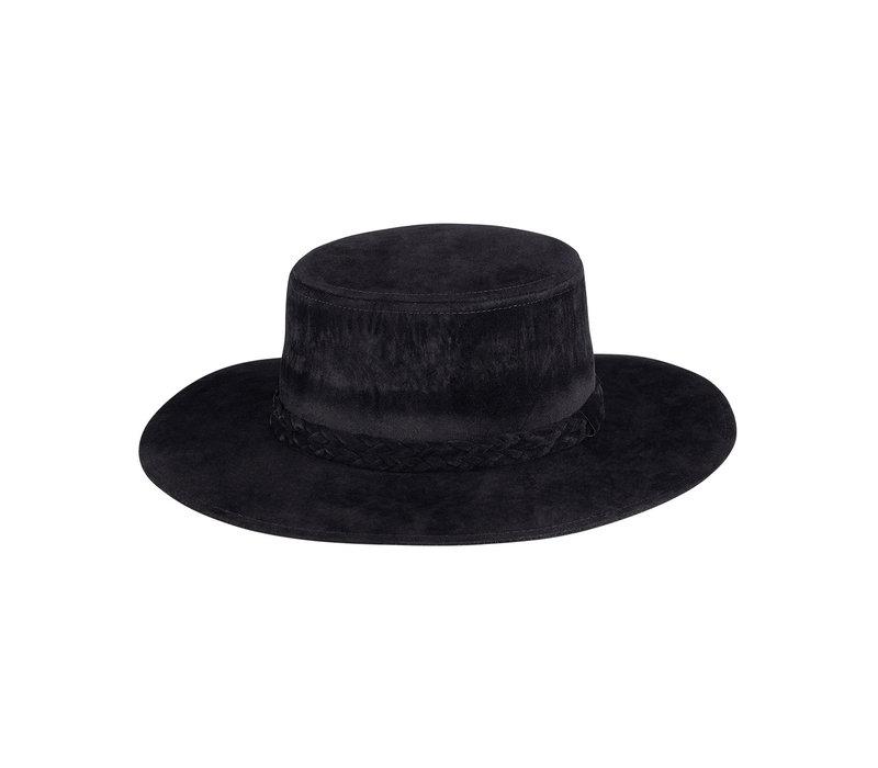 VIV SUEDE HAT - BLACK