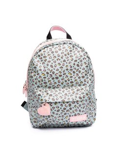 Girls Rugzak Leo Mint & Pink