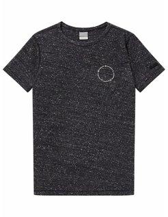 T-shirt met maan-artwork grijs