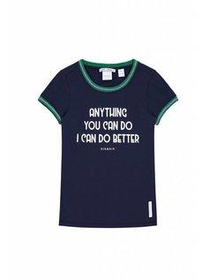 Anything T-Shirt Girls Blue