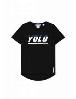 Yolo T-shirt Boys Zwart