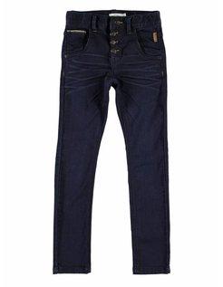 Denim Jeans Slim Dark blue