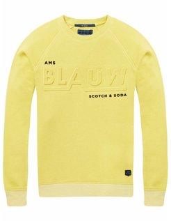 Yellow Logo Sweater