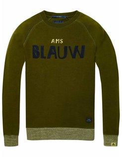 Green Logo Sweater