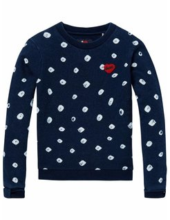 Sweater Dots blue
