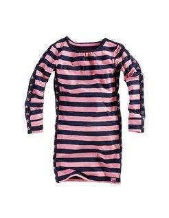 Maarit Jurk Popping pink Stripes