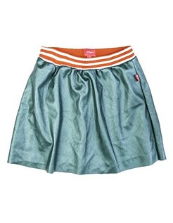 Metallic skirt GRN