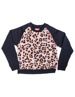 Leopard sweater NVY
