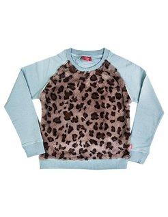 Leopard sweater GRN