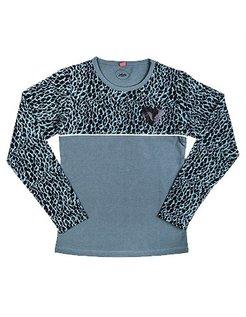 Leopard Long-Sleeve GRN