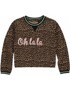 LIES Leopard Sweater