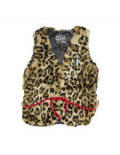 LIESKE Leopard Gilet