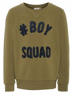 Trui Boys Squad Burnt Olive