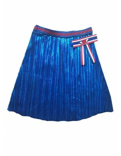 skirt Cathy plisee cobalt