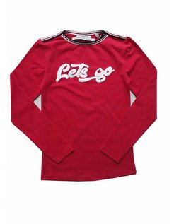 top Carina red/let's go