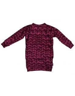 Twirre Burgundy Rood Dress