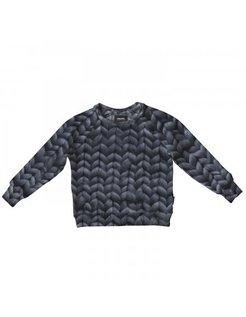 Twirre Steel Grey Pyjama Sweater