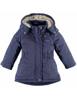 Baby girls jacket Steel Blue