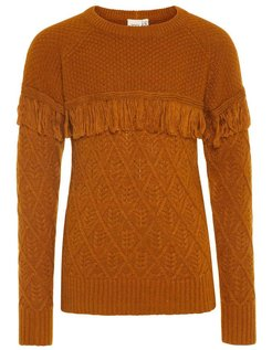 NKFOFRILL LS KNIT Cathay Spice