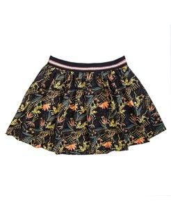 Skirt print BLK