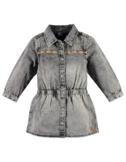 Girls denim dress Grey Denim