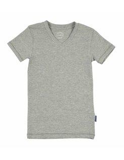 Boy sV-neck Grey Shirt CL118