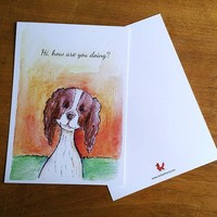 Postcard Doggie