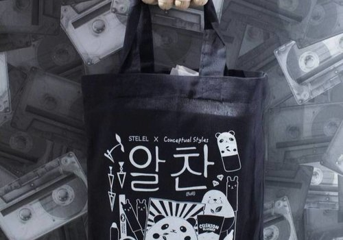By STEL.EL Tote bag mini #Kbeauty
