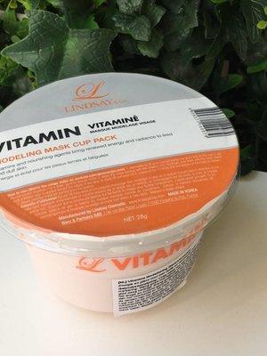 Lindsay Vitamin Modeling Mask Cup Pack