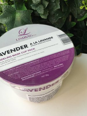 Lindsay Lavender Modeling Mask Cup Pack
