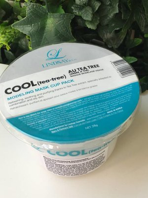 Lindsay Cool (Tea Tree) Modeling Mask Cup Pack