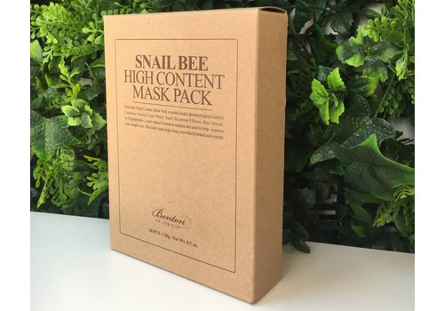 Benton Snail Bee High Content Mask Pack (10pcs)