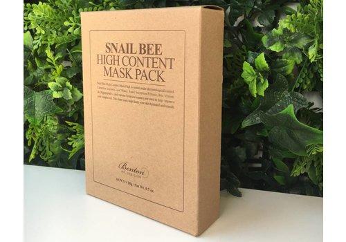 Benton Snail Bee High Content Mask Pack (10pcs)