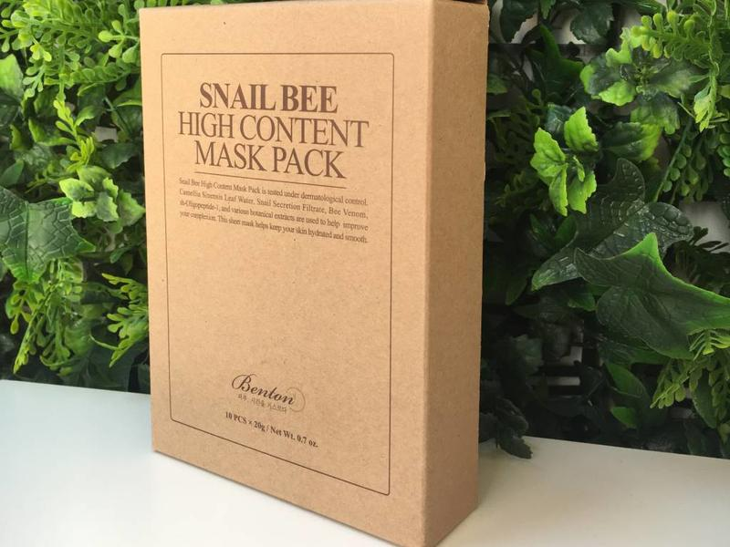 Snail Bee High Content Mask Pack (10pcs)