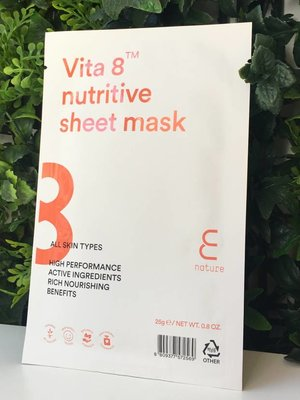 Enature Vita 8 Sheet Mask