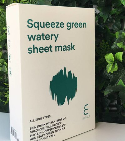 Squeeze Green Watery Sheet Mask Pack (10ea)