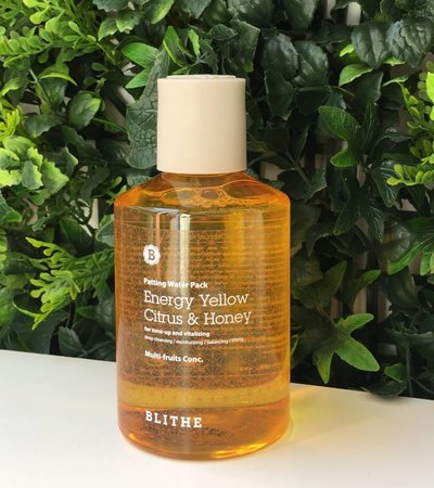 CLEARANCE SALE - Patting Water Pack [Yellow Line: Citrus & Honey] - 200 ml