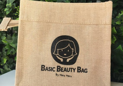 By HARU Eco Jute Etui [Basic Beauty Bag]