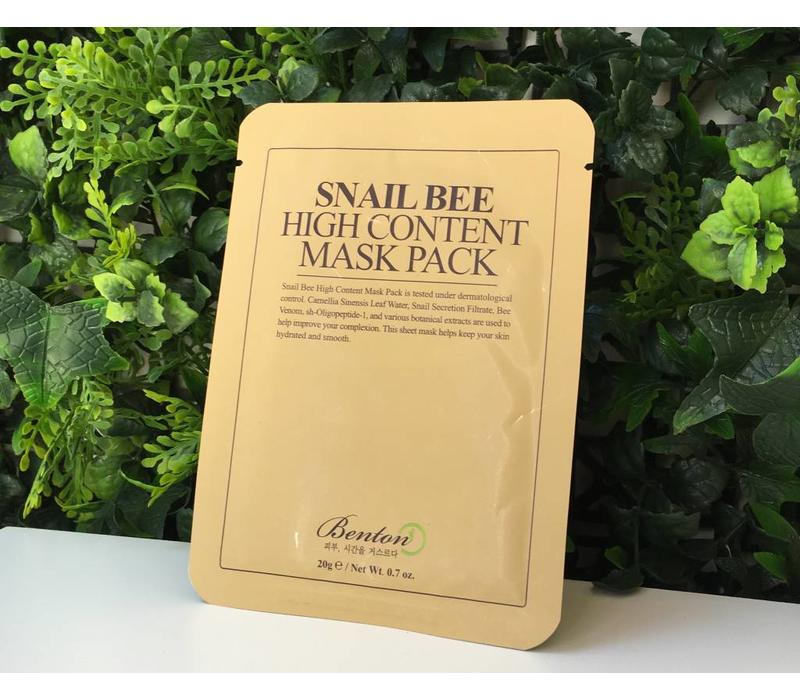 Snail Bee High Content Mask Pack - 20g