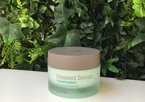 Blithe CLEARANCE SALE - Pressed Serum [Green Line: Crystal Iceplant]