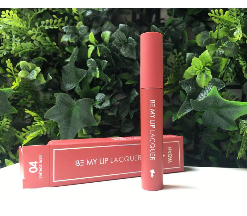 Be My Lip Lacquer 04 Vintage Rose - 4 g
