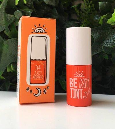Be My Tint 04 Juicy Orange - 4g