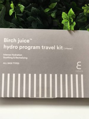 Enature Birch Juice Program Travelkit